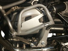 Paramotore Crash Bars HEED BMW R 1200 GS Adventure (2006 - 2012) Bunker argento