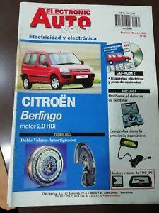 CITROEN BERLINGO 2.0 HDI MANUAL DE REPARACION TALLER ELECTRICIDAD AVERIAS REPAIR