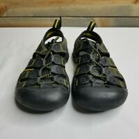 Boys Keen Water/Hiking Shoes/Sandals, Black, Estimating Size 12