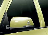 Mitsubishi Car Chrome Vinyl Wing Mirror Sticker Decals Car Mod Graphic x2
