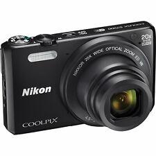 Nikon COOLPIX S7000 Digital Camera 26483: 16MP, 20X Optical Zoom, 3