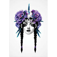 Ruben Ireland - New Way Warrior ART PRINT POSTER 50x70cm NEW UK Visual Artist