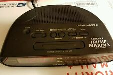 Donald Trump Sony Dream Machine Trump Marina Fm/Am Clock Radio Icf-C390