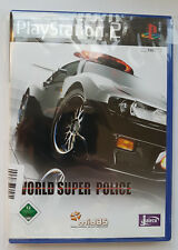 Playstation 2 - World Super Police