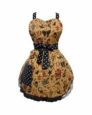 Hemet Vintage Tattoo Flash Apron Rockabilly kitsch  50's housewife