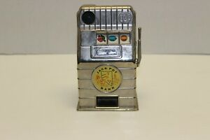 JACK POT BANK - map of Nevada - 10¢ Metal slot machine