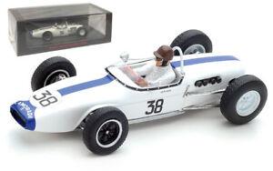 Spark S5343 Lotus 18 #38 French GP 1961 - Ian Burgess 1/43 Scale