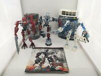 Lego Bionicle Lot - Axonn 8733, Hakann 8901, Inika 8732 - Not complete