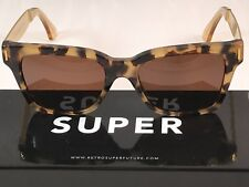 Retrosuperfuture America Francis Brown Puma Sunglasses SUPER 775 NEW FAST SHIP