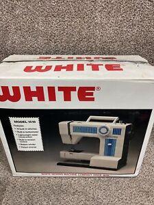 White/Domestic 1510 Sewing Machine Precision Built Zigzag Brand New !