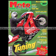 MOTO TUNING N°20-b HONDA CBR 900 KAWASAKI ZX-7RR SUZUKI GSF 1200 BANDIT 2000