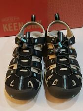 KEEN Women's Clearwater CNX Sandal, Black/Radiance