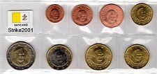 Euro VATICANO 2010 - 8 PZ FDC in Blister -