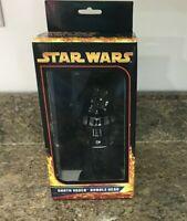 Star Wars Darth Vader Action Bobble Head Figure Lucasfilm 2005 Black New in Box
