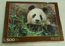 Giant Panda Jigsaw Puzzle 500 Pieces Wildlife Sure-Lox Animal 19x14 Bamboo