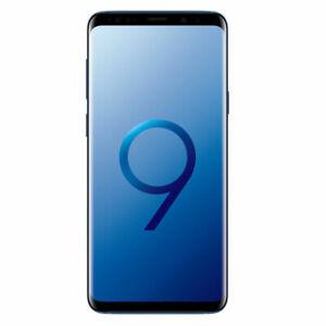 Neuf Samsung Galaxy S9+ Plus SM-G965U - 64 Go -Bleu Débloqué 6 Go RAM Smartphone