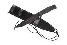 Muela Tactical Knife Rubber Handle 180mm (TORNADO-18N)