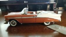 Danbury Mint 1956 Chevy Bel Air Limited edition C.V # 1267 /3500 1/24 Scale