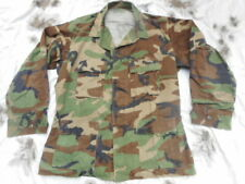 US ARMY genuine issue WOODLAND camo BDU COMBAT JACKET coat  L LARGE m65 material