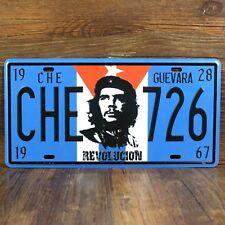 "Vintage License Famous Car Plates ""CHE-726 Revolucion"" Vintage Metal Sign Craft"