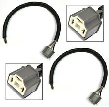 Extension Wire Pigtail Female Ceramic S 9003 H4 Two Harness Head Light Bulb Plug