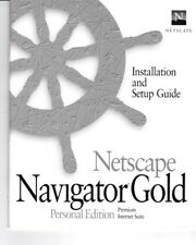 Vintage Netscape Navigator Gold Personal Edition Installation And Setup Guide