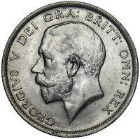 1919 HALFCROWN - GEORGE V BRITISH SILVER COIN - V NICE