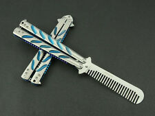 Practice Balisong Butterfly style Comb Trainer Tool cool sports uk k019