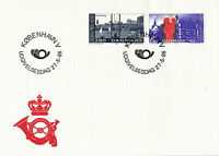 DENMARK 1986 NORDIC POSTAL COOPERATION UNADDRESSED FIRST DAY COVER SHS