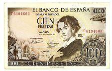 Spain ... P-150 ... 100 Pesetas ... 1965 ... CH*XF*