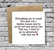 DINOSAURCARDS GREETINGS CARD BEST FRIEND HUMOUR FUNNY FRIENDSHIP BIRTHDAY XMAS