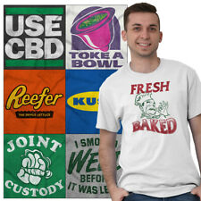 Marijuana Tee Shirt Pot T Shirts For Mens Women Stoner Novelty Gift TShirts Tees