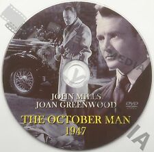 THE OCTOBER MAN (1947) JOHN MILLS, JOAN GREENWOOD, EDWARD CHAPMAN & K. WALSH DVD