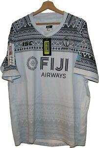 BRAND NEW FIJI FIJIAN 7's RUGBY Jersey Shirt Tricot size XL ISC Maglia Camiseta