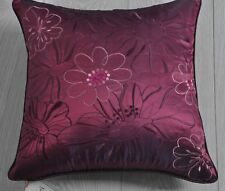 Sassari-amethyst Cushion Including Inner Pad 40 X 40cm Amethyst