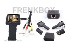 Tester cctv Monitor Portatile 3,5 Ricaricabile per test telecamere sorveglianza