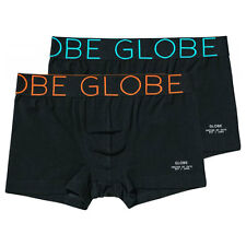 Boxer Globe Lindros 2 Pack Jersey Brief Black