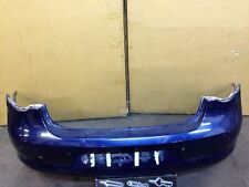 VW EOS 2006-2012 CONVERTIBLE REAR BUMPER IN BLUE WITH PDC HOLES 1Q0807421