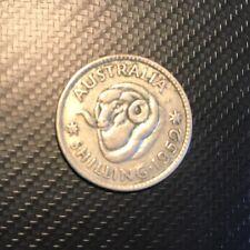 Lovely Australia 1952 One 1 Shilling Coin