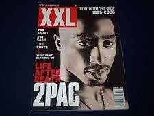 2006 OCTOBER XXL MAGAZINE - TUPAC COVER - HIP HOP & RAP - K 552