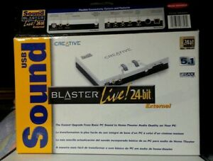 Creative Labs SB0490L4  Live 24 bit USB Sound Blaster External Unit