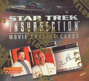 Star Trek INSURRECTION Movie - Sealed CASE of 6 boxes