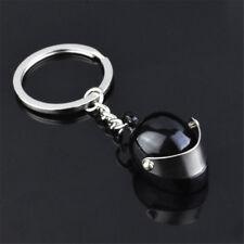 Creative Motorcycle Bicycle Helmet Key Ring Chain Keychain Keyring Kids Gift HOT