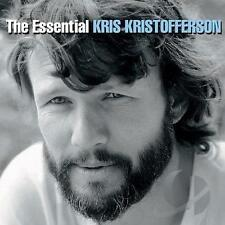 KRIS KRISTOFFERSON (ESSENTIAL - GREATEST HITS 2CD SET SEALED + FREE POST)