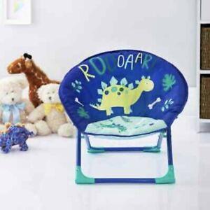 Premier Chair Kids Moon Camp Indoor Outdoor Foldable Dinosaur Chair