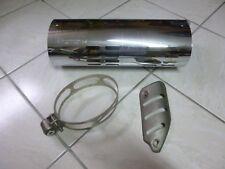 Tôle protection pot échappement moto  motorcycle  BMW K 25  1170  exhaust system