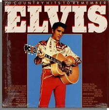 Elvis Presley - 20 Country Hits To Remember (1987) - New Import LP Record!