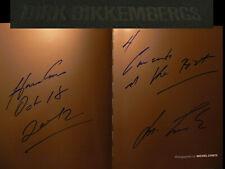 Michel Comte signiert Fotograf Buch Bikkembergs autograph Signatur Autogramm