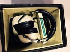 Vintage Sansui SS-20 2Way 8ohm Stereo Headphones w/Original Case!
