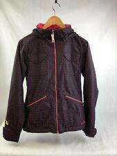 BURTON 'Dry Ride' Ladies Black & Pink Polka Waterproof Raincoat, SMALL, RRP £240